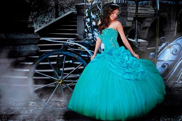15 años de princesa real. Temática encatadora y llena de magía