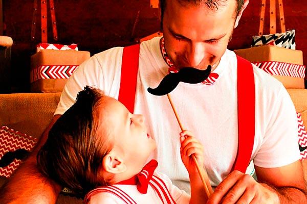 Celebración del día del padre Irrepetible día del padre en familia