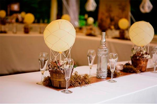 Cómo hacer un centro de mesa en forma de globo ¡eleva tu arreglo floral a las alturas!