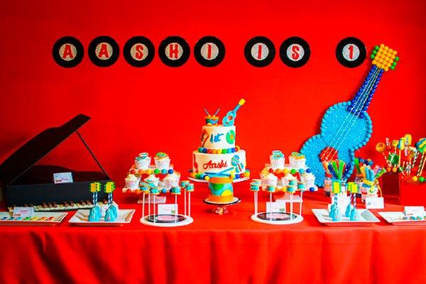 ¿cómo hacer un primer cumpleaños musical? Vibrante primer cumpleaños con instrumentos musicales