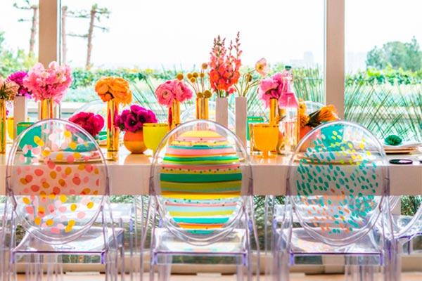 ¿cómo hacer una fiesta de dos ambientes? Planifica una estupenda celebración primaveral