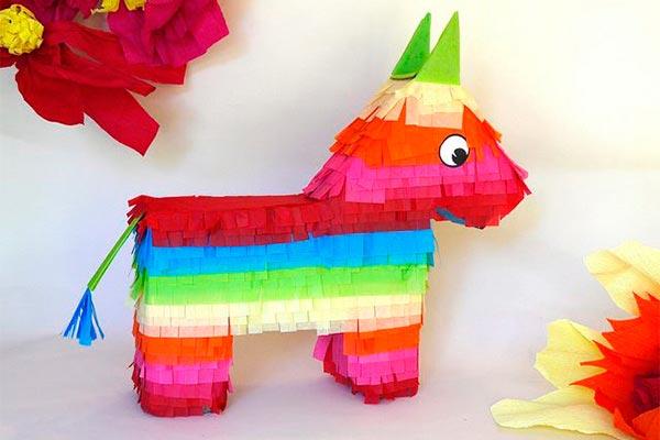 ¿cómo hacer una piñata tradicional? Fantástica piñata de burrito