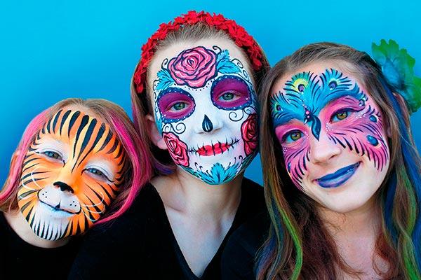 ¿Cómo pintar caras paso a paso? Tips para un maquillaje facial impactante