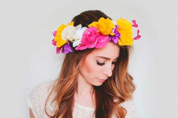 adecuado para hombres/mujeres calidad autentica 50% rebajado cómo realizar una corona de flores? - Confecciona una ...