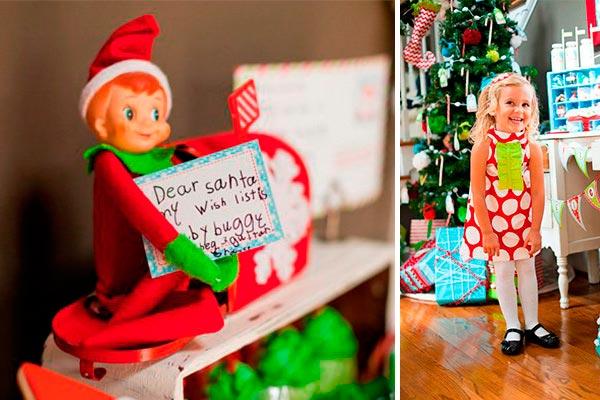 Decoración con duendes para navidad Traviesos duendes para una mágica navidad