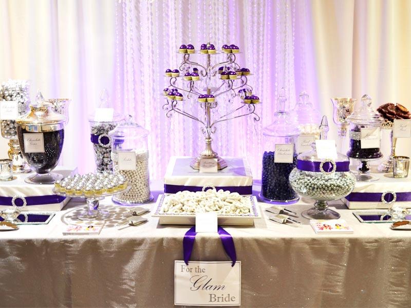 Decoración para la mesa de dulces Los detalles más originales para decorar el candy bar