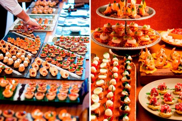 Fiesta de 15: bocadillos para ofrecer a los invitados