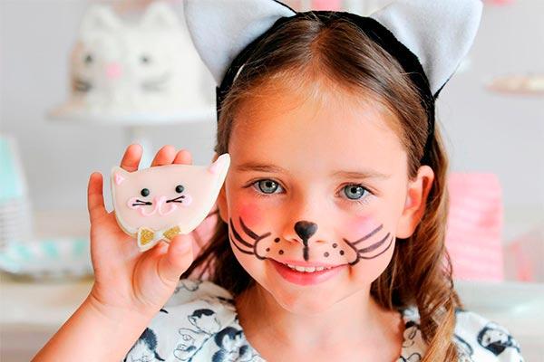 Fiesta de gatitos para niñas Adorables gatitos en el cumple de tu nena
