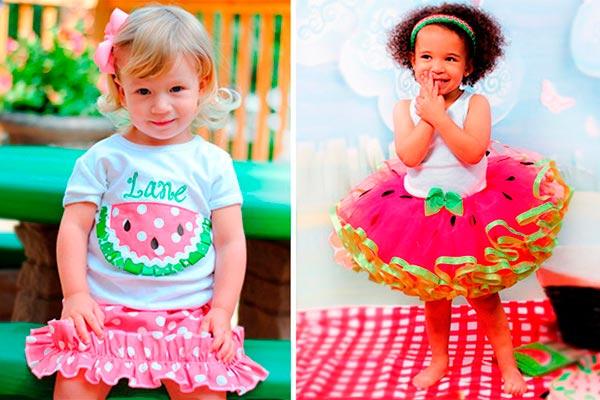 Fiesta para niña inspirada en sandías Dulces sandías para el cumple de tu pequeña