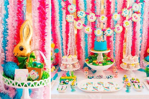 Innovadora celebración de pascua Tonos vibrantes para una original fiesta de pascua