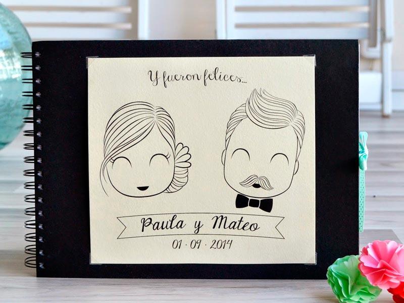 Originales libros de firmas para la boda Ideas creativas para que dejen sus preciados deseos