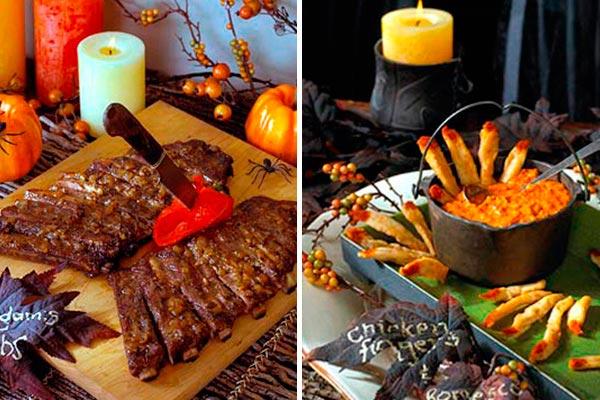 Platillos innovadores para halloween Escalofriante catering para la noche de brujas
