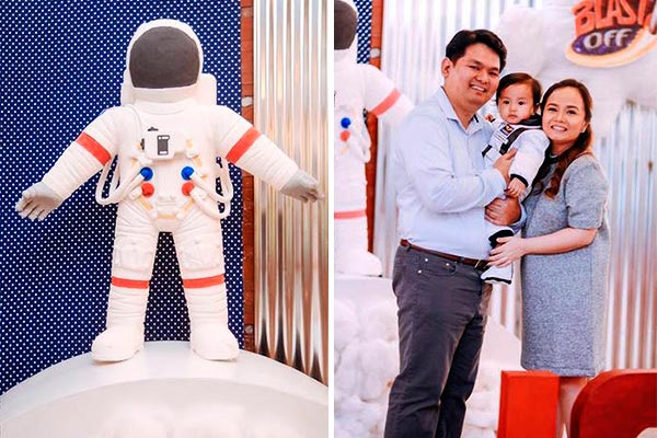 Primer año de tu hijo con cohetes y astronautas Llamando a houston: ¡preparados para un cumpleaños sobre la luna!