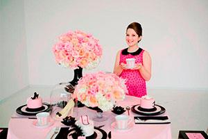 Fiesta inspirada en coco chanel - Sofisticado cumpleaños para chicas