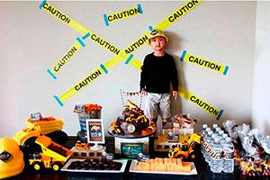 ¡fiesta de cumpleaños en construcción! - Cumpleaños para tu pequeño constructor