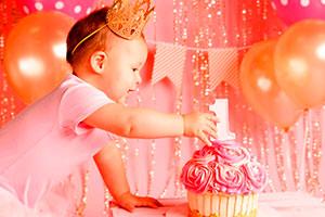 Sesión fotográfica para 1er cumpleaños - ¡cake smash en su primer cumple!
