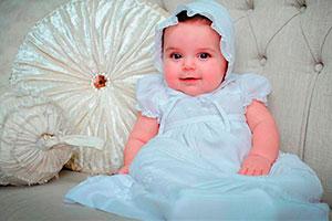 Vestidos blancos para bautizo de niña - Clásicos atuendos para el bautizo de tu hija