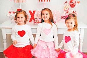 Fiesta de san valentín para niñas - Celebra el día de san valentín entre pequeñas amigas