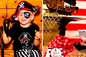 Fiesta de piratas para niños - Cumpleaños al estilo pirata
