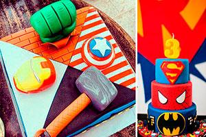 Pasteles de super héroes - Pasteles  que salvarán tu fiesta