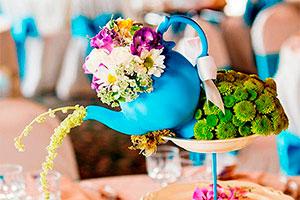Ideas para centros de mesas - Originales centros de mesas para tu fiesta de té