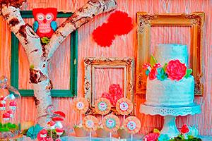 Un baby shower con buhos divertidos - Delicadas aves para decorar la llegada del bebé