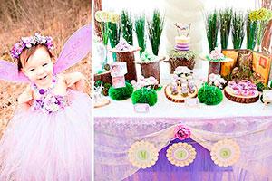 Cumpleaños de hadas para niñas - Reunión de hadas mágicas en el cumple de tu nena