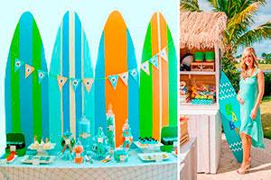Surf en tu baby shower - Un baby shower sobre las olas