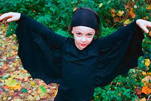 Cómo hacer un disfraz de murciélago - Divertido disfraz de murciélago para tu hija