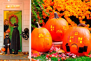 Decoración de calabazas para halloween - Calabazas creativas para la noche de brujas