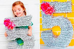 Crea una piñata paso a paso - Realiza una linda piñata de número para tu fiesta