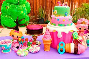 Cumpleaños para niñas de lalaloopsy - Tiernas lalaloopsy en la fiesta de tu nena
