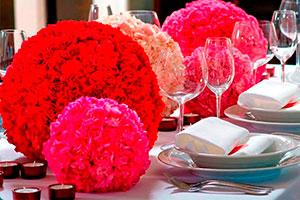 Centro de mesa floral fácil de hacer - Bellísimo arreglo floral esférico