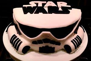 Originales pasteles de star wars - Un pastel con el poder de la fuerza