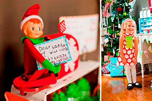Decoración con duendes para navidad - Traviesos duendes para una mágica navidad