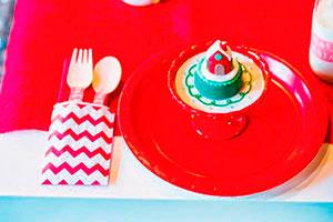 Deliciosa merienda navideña para niños - Exquisita comida de navidad para niño
