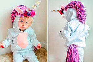 ¿Cómo realizar un disfraz de unicornio? - ¡Hazlo tú misma! tierno disfraz de unicornio para tu hija
