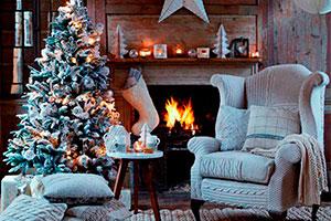 Blanco hielo para navidad - Un banquete invernal para celebrar la navidad