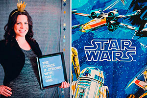 Baby shower de star wars - ¡guerra de las galaxias! un baby shower espacial