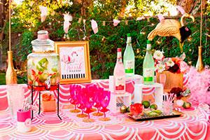 Elegante fiesta de verano para chicas - Sofisticada y femenina celebración veraniega