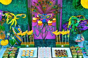 Celebración de carnaval inspirada en mardi grass - Una exótica y desenfrenada recepción