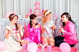 San valentín solo para chicas - Caprichoso galentine's day en tonos brillantes