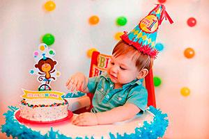 Fiesta de circo para primer cumpleaños - Festeja su primer cumpleaños en un adorable circo