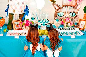Cumpleaños de alicia en el país de las maravillas - Mágica fiesta de té inspirada en alice in wonderland