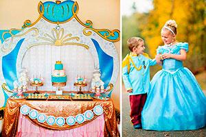 Cumpleaños para niña de cenicienta - Majestuosa celebración de cenicienta