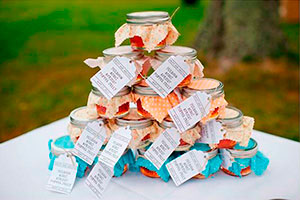 Souvenirs campestres - Encantadores souvenirs para fiestas al aire libre