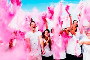 Cómo hacer polvo de colores - Divertidos polvos de colores para tu celebración