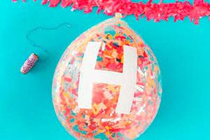 ¿cómo hacer globos rellenos de confetis? - Decorativos globos sorpresa