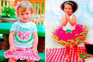 Fiesta para niña inspirada en sandías - Dulces sandías para el cumple de tu pequeña