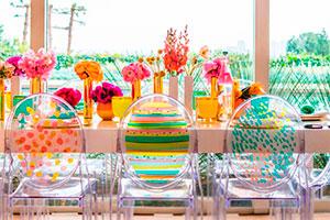 ¿cómo hacer una fiesta de dos ambientes? - Planifica una estupenda celebración primaveral